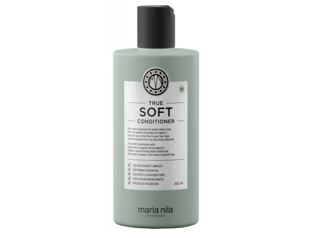 Maria Nila True Soft Conditioner – hydratační kondicionér s arganovým olejem na suché vlasy 300ml