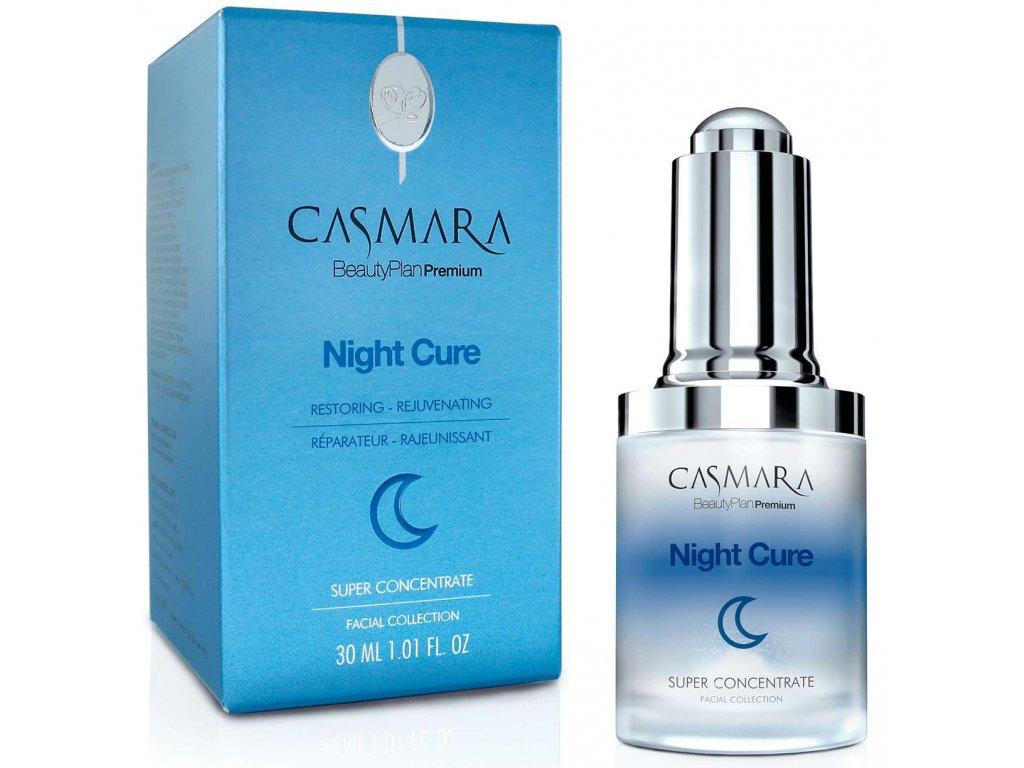 Casmara Super Concentrate Night Cure – noční super regenerační sérum pro zralou pleť 30ml