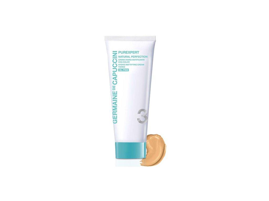 Germaine de Capuccini Purexpert Hydro-Mattifying Cream Tinted – zmatňující tónovací krém 50ml