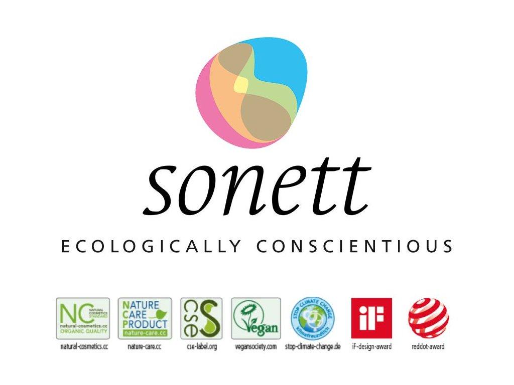 Sonett – stáčený prací gel na barevné prádlo 100g