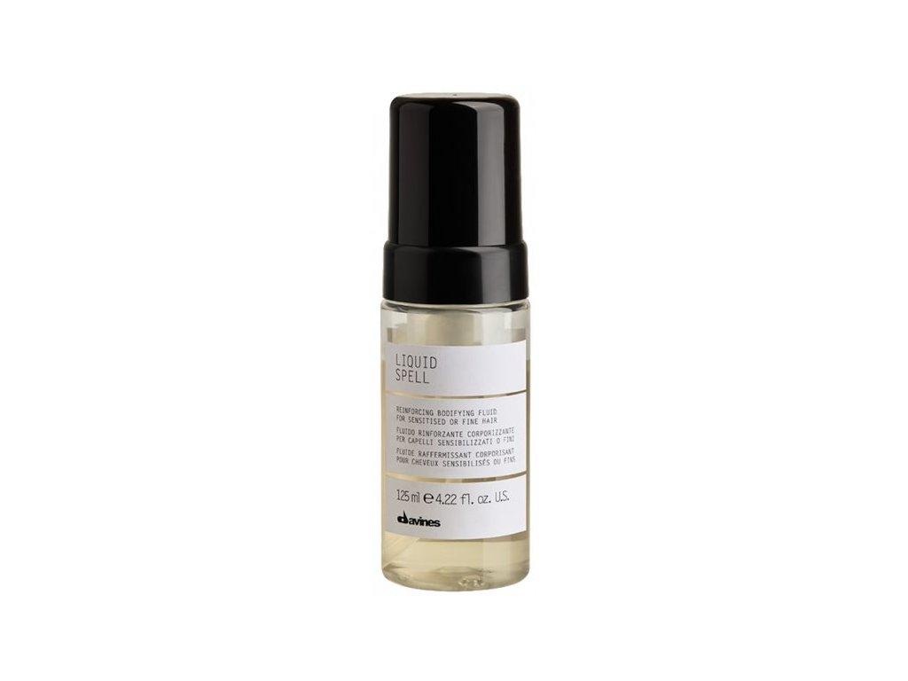 Davines Liquid Spell –  posilující fluid pro křehké, poškozené a jemné vlasy 125ml