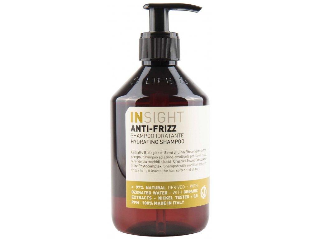 Insight Anti-Frizz Hydrating Shampoo - uhlazující hydratační šampon pro vlnité vlasy