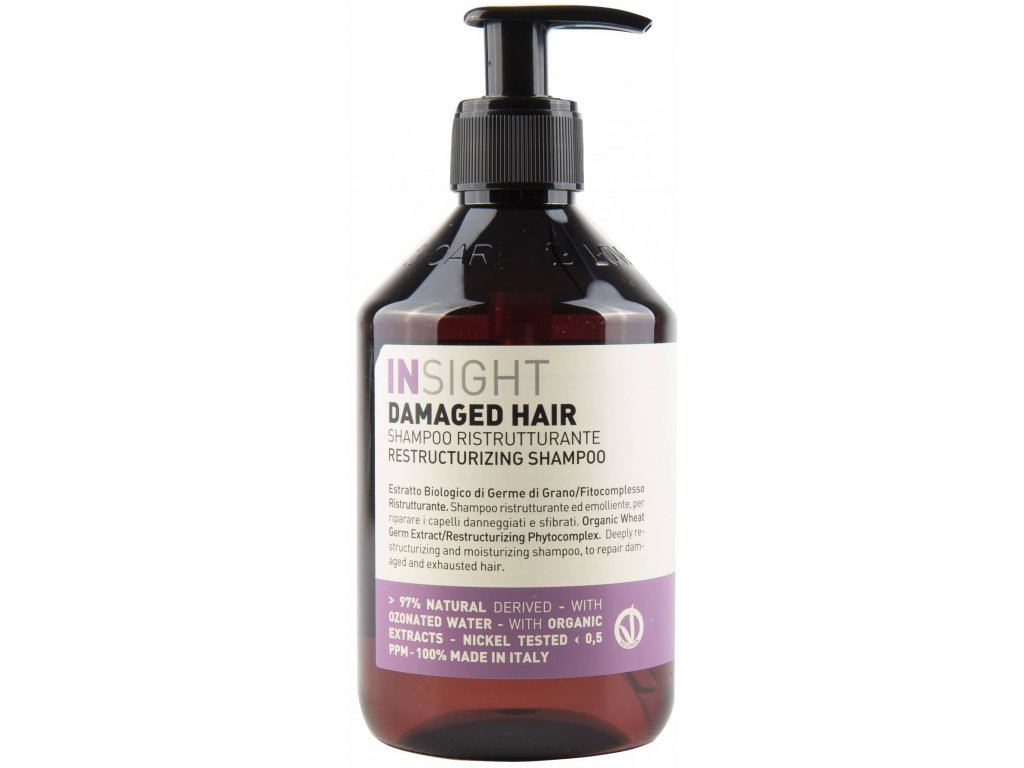 insight damagedhair shampoo 400