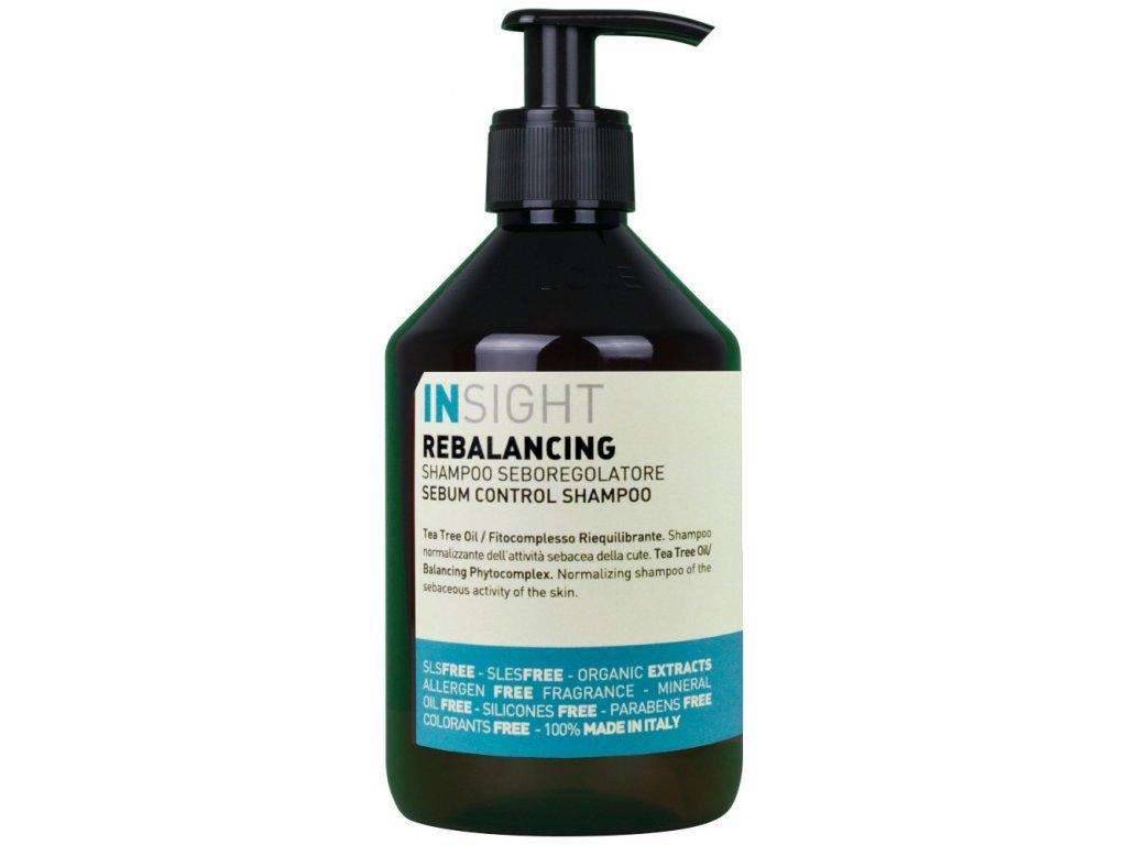Insight Rebalancing Sebum Control Shampoo - šampon pro mastné vlasy