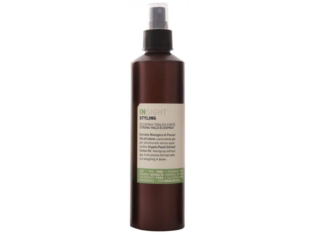 Insight Styling Strong Hold Ecospray - silně tužící lak na vlasy 250 ml