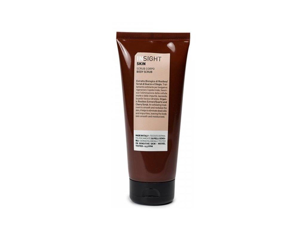831 insight skin body scrub 200 ml telovy peeling