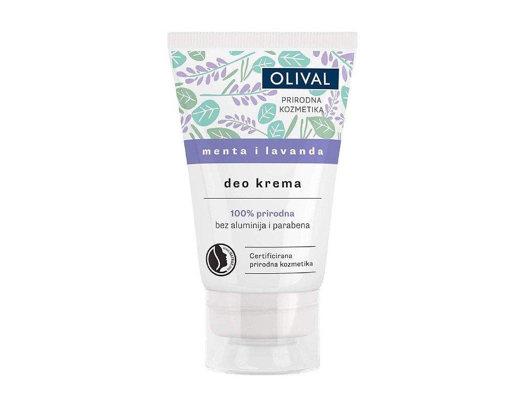 Olival Natural Deo - přírodní deo krém s mátou a levandulí 50ml