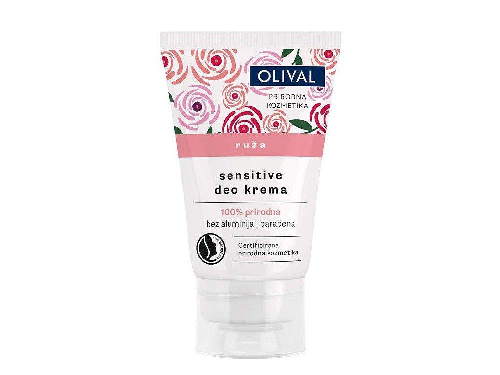 Olival Natural - přírodní deo krém s růží 50ml