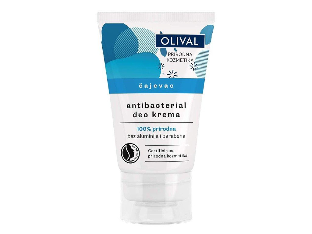 Olival Natural - přírodní antibakteriální deo krém Tea Tree 50ml