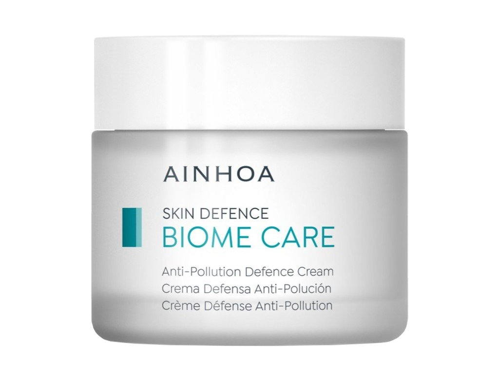 Ainhoa Biome Care Anti-Pollution Defence Cream - ochranný krém proti znečištění pro normální a smíšenou pleť 250ml