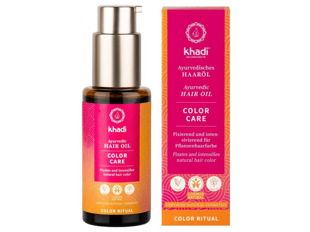 khadi ayurvedic hair oil color care 50ml 7759