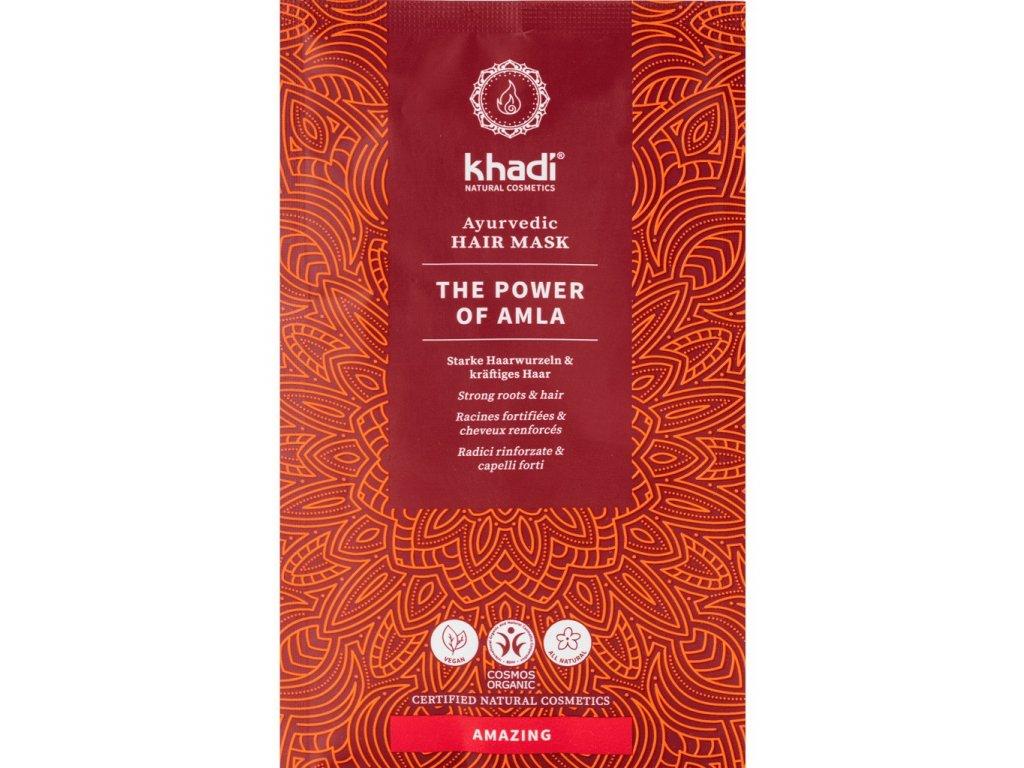 khadi ayurvedic hair mask the power of amla 8800 k