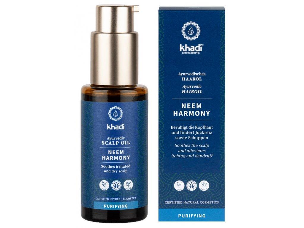 khadi ayurvedic hair oil neem 50ml