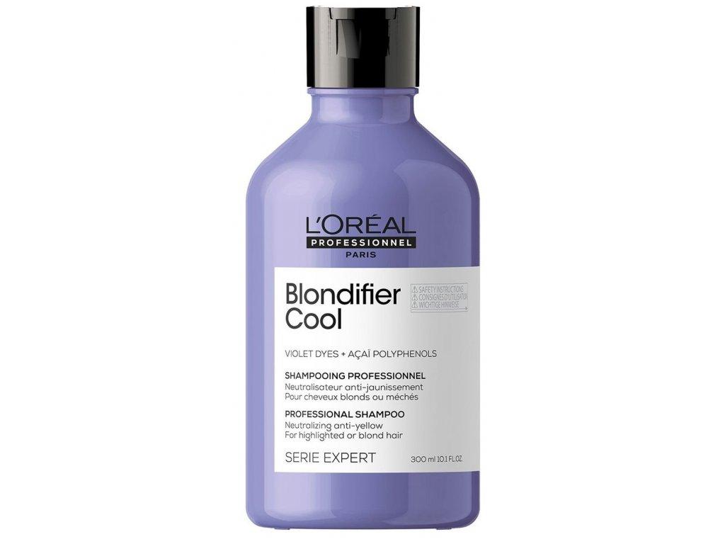 Loréal Professionnel Expert Blondifier - neutralizační šampon pro blond vlasy  (Cool Illuminating Shampoo)