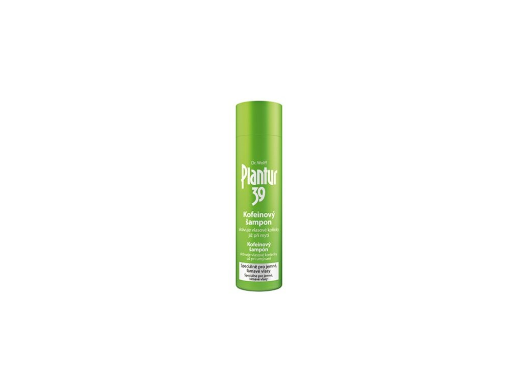 Plantur 39 - kofeinový šampon pro jemné a lámavé vlasy 250ml