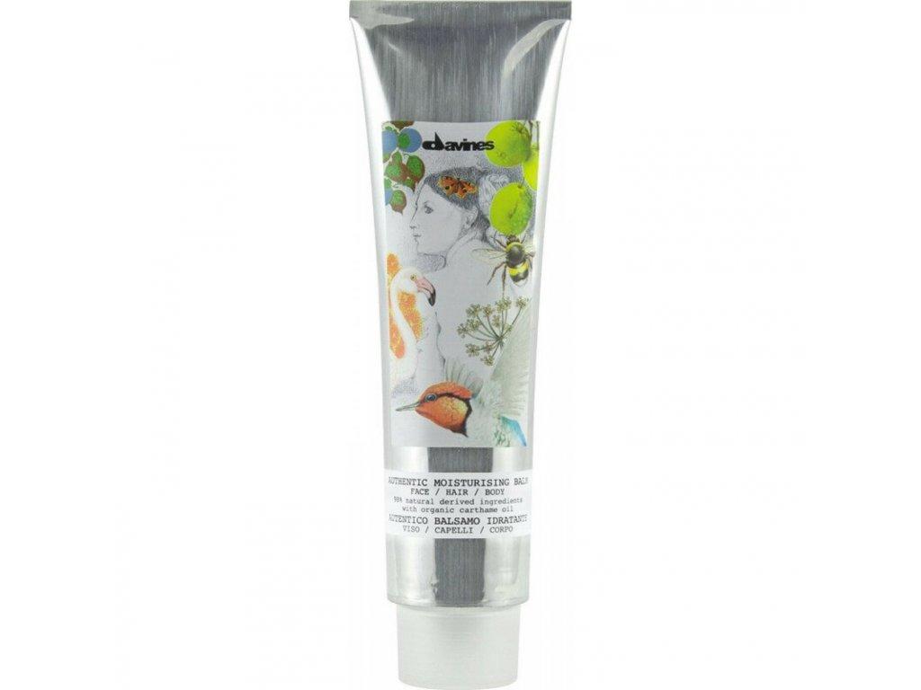 davines authentic moisturizing balm face hair body 150ml