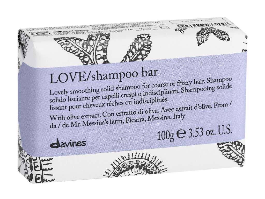 davines essential love smooth shampoo bar