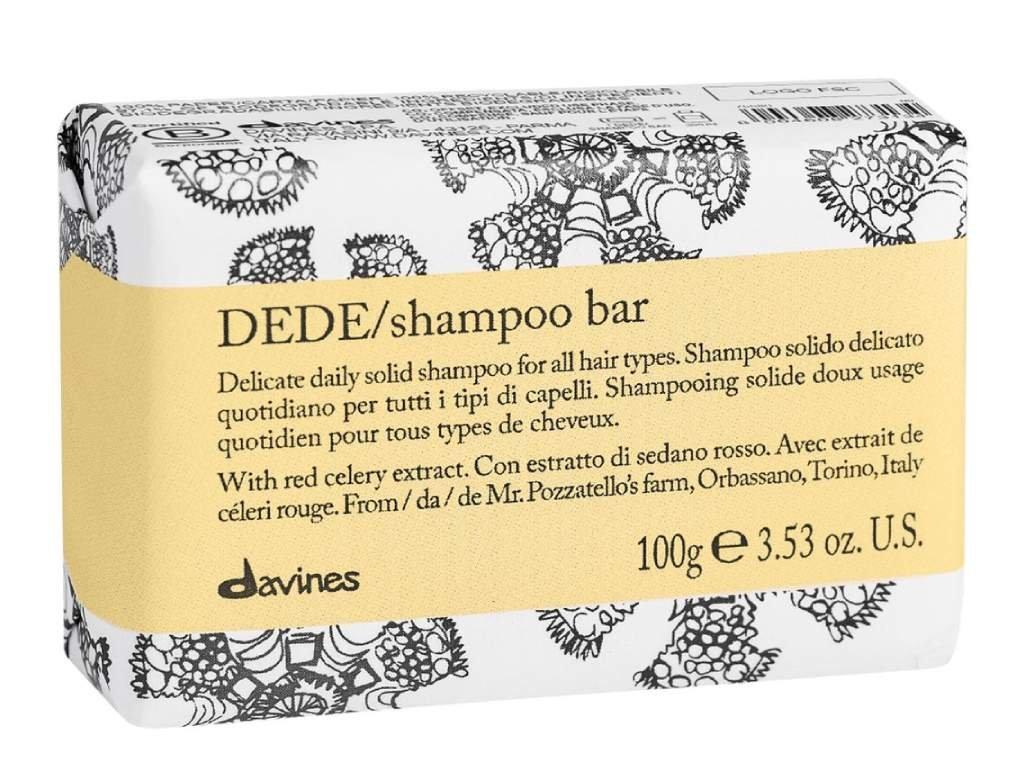 davines essential dede shampoo bar
