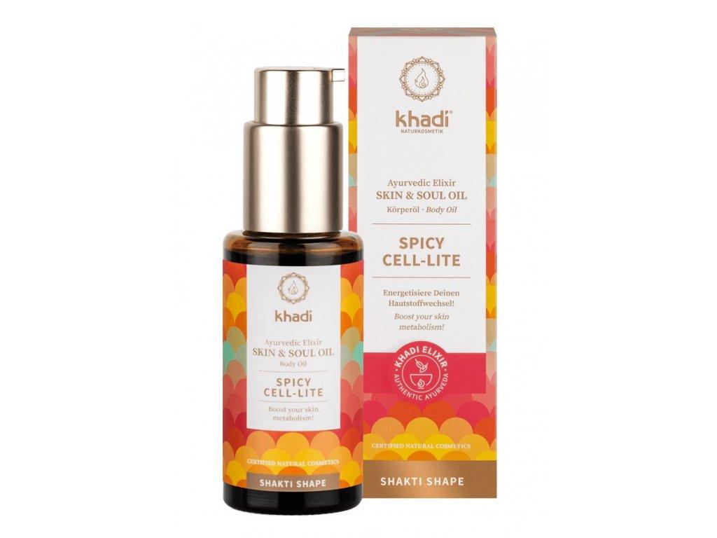 Khadi Elixir Skin & Soul Oil Spicy Cell Lite 100ml