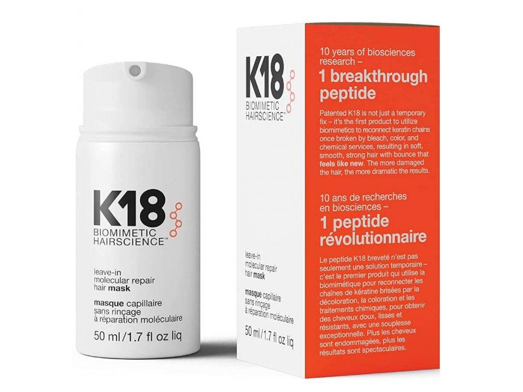 K18 HAIR MOLECULAR REPAIR LEAVE IN MASK 50 ML