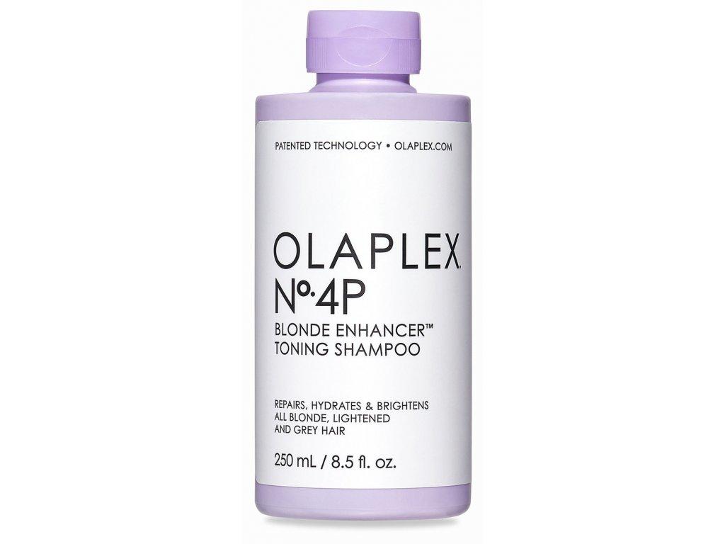 1olaplex no 4 p blonde enhancer toning shampoo 250