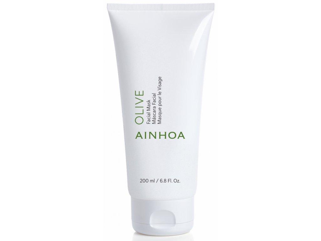 Ainhoa Olive Facial Mask – hydratační pleťová maska pro suchou pleť 200ml
