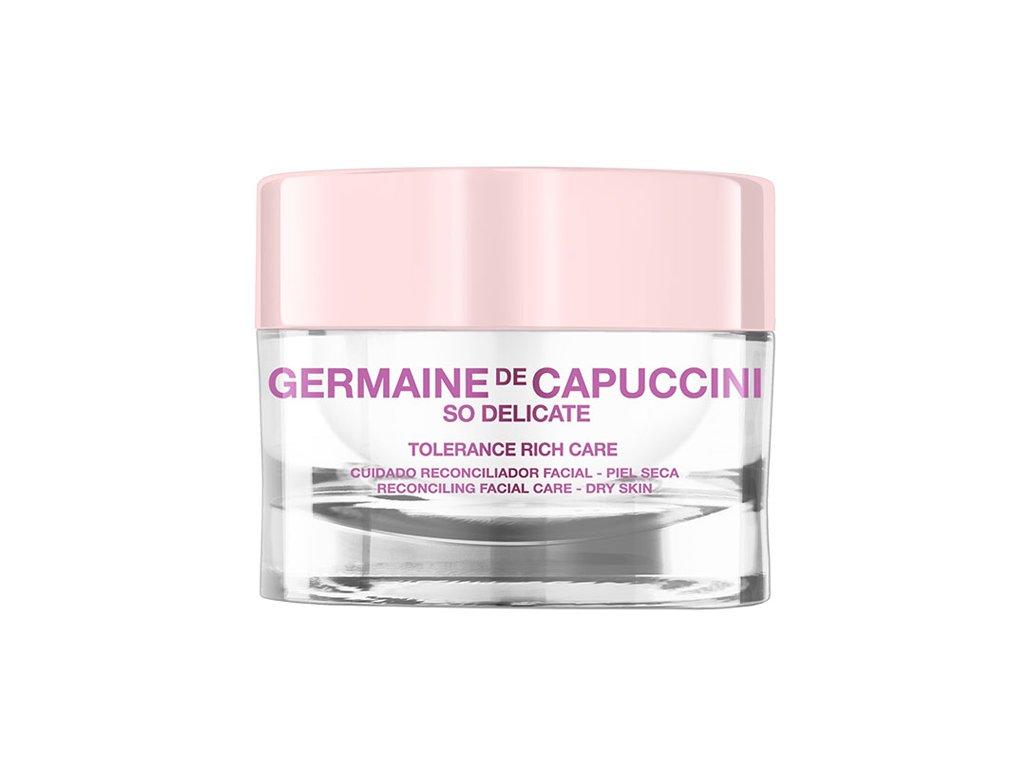 Germaine de Capuccini So Delicate Tolerance Rich Care - pleťový krém pro suchou a velmi citlivou pleť