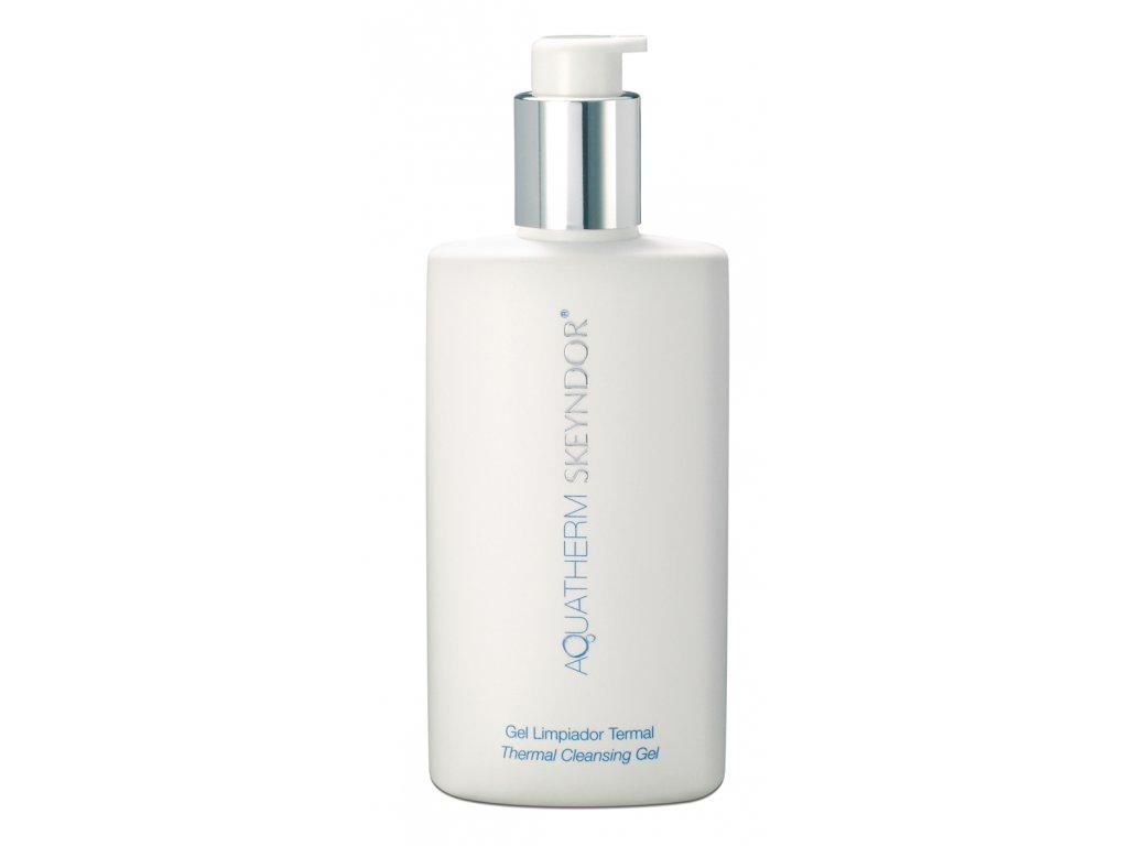 Skeyndor Aquatherm Thermal Cleansing Gel – čisticí termální gel pro všechny typy citlivé pleti 250ml