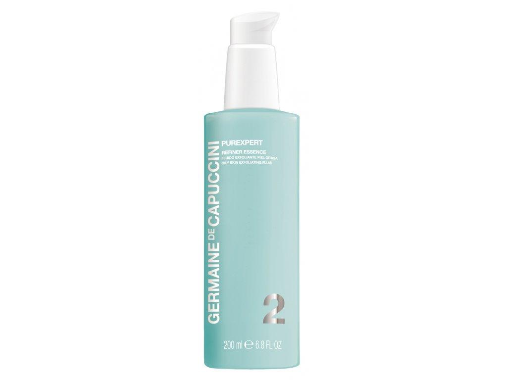 Germaine de Capuccini Purexpert Refiner Essence – exfoliační fluid pro mastnou pleť 200ml