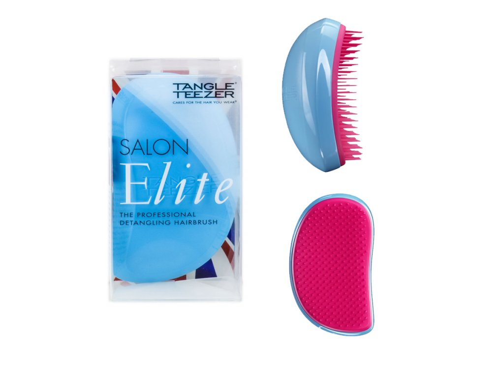 Tangle Teezer Salon Elite Blue Blush - kartáč na vlasy
