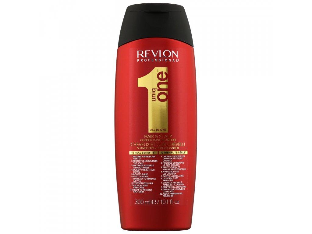 Uniq One All in One Conditioning Shampoo - šampon a kondicionér v jednom na vlasy a pokožku 300ml