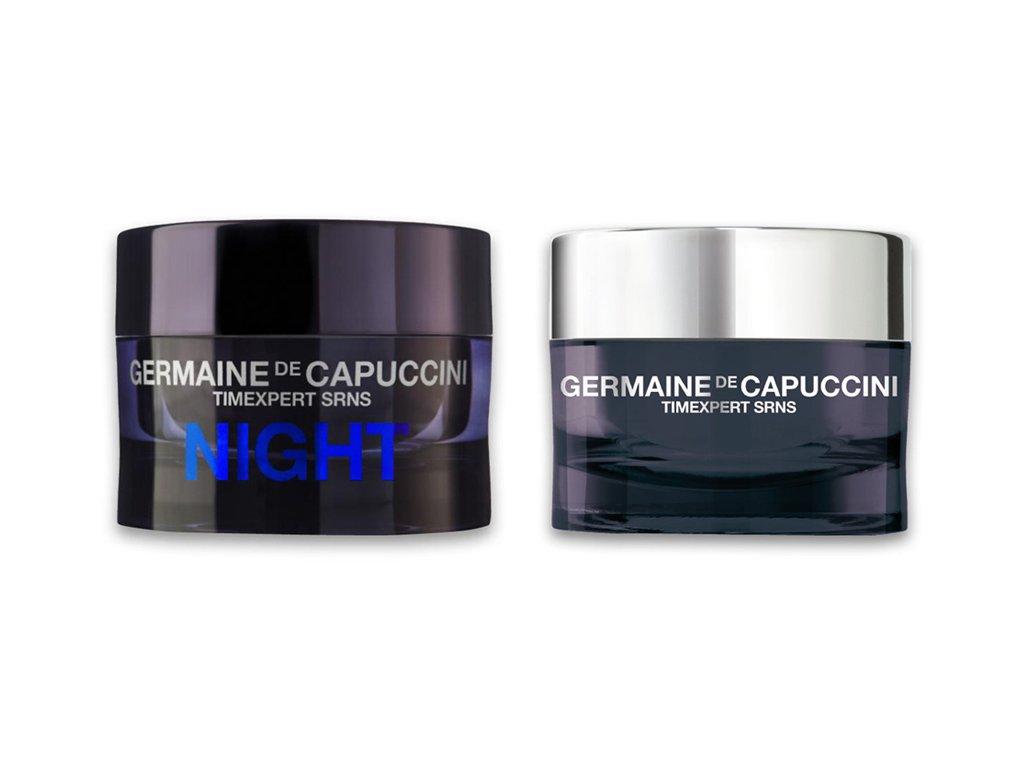 Germaine de Capuccini Timexpert Srns Set - noční regenerační krém 50ml + denní krém pro intenzivní obnovu pleti 50ml