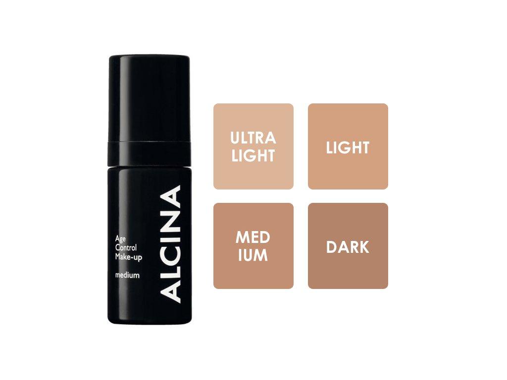 Alcina Age Control Make-up - vyhlazující make-up 30 ml
