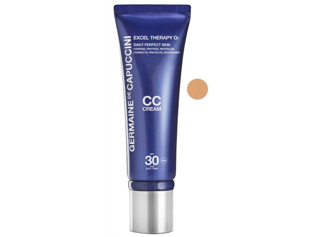 Germaine de Capuccini Excel Therapy O2 CC Cream Daily Perfect Skin – pěstící krém s lehce krycí schopností 50ml
