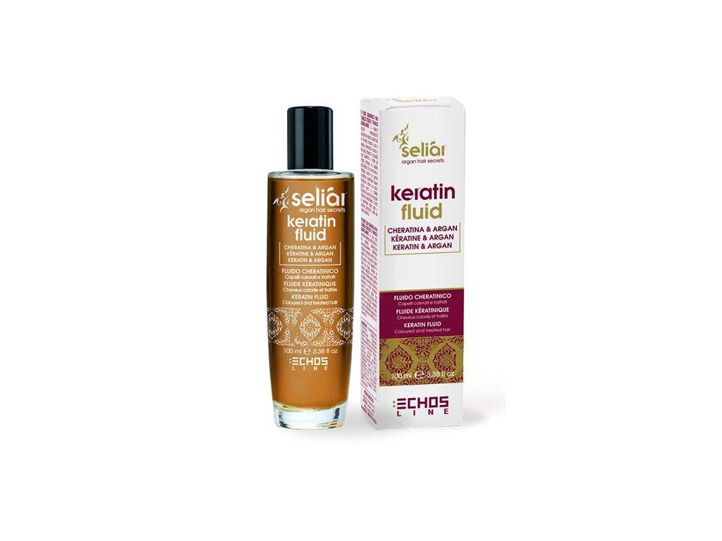 Echosline SELIAR – fluid s keratinem pro barvené a chemicky poškozené vlasy 100ml