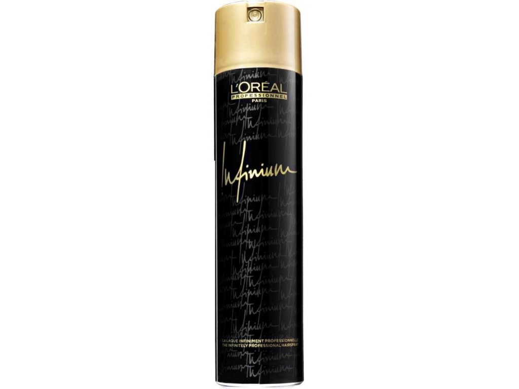 Loréal Professionnel Infinium Lumiere Strong - lak na vlasy se silnější fixací 500 ml