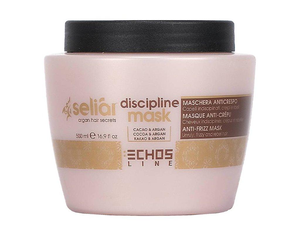 Echosline Seliar Discipline – uhlazující maska pro nepoddajné a krepaté vlasy