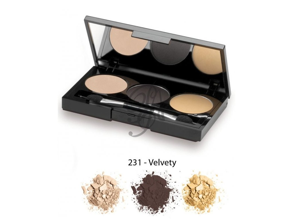 Germaine de Capuccini Eyeshadow Flawless - oční stíny Velvety 3,9 g