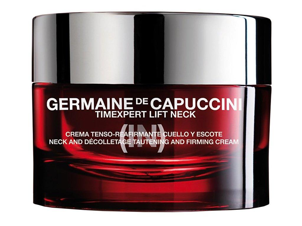 Germaine de Capuccini Timexpert Lift (IN) Neck and Decolletage Tautening Firming Cream – liftingový krém na krk a dekolt 50ml