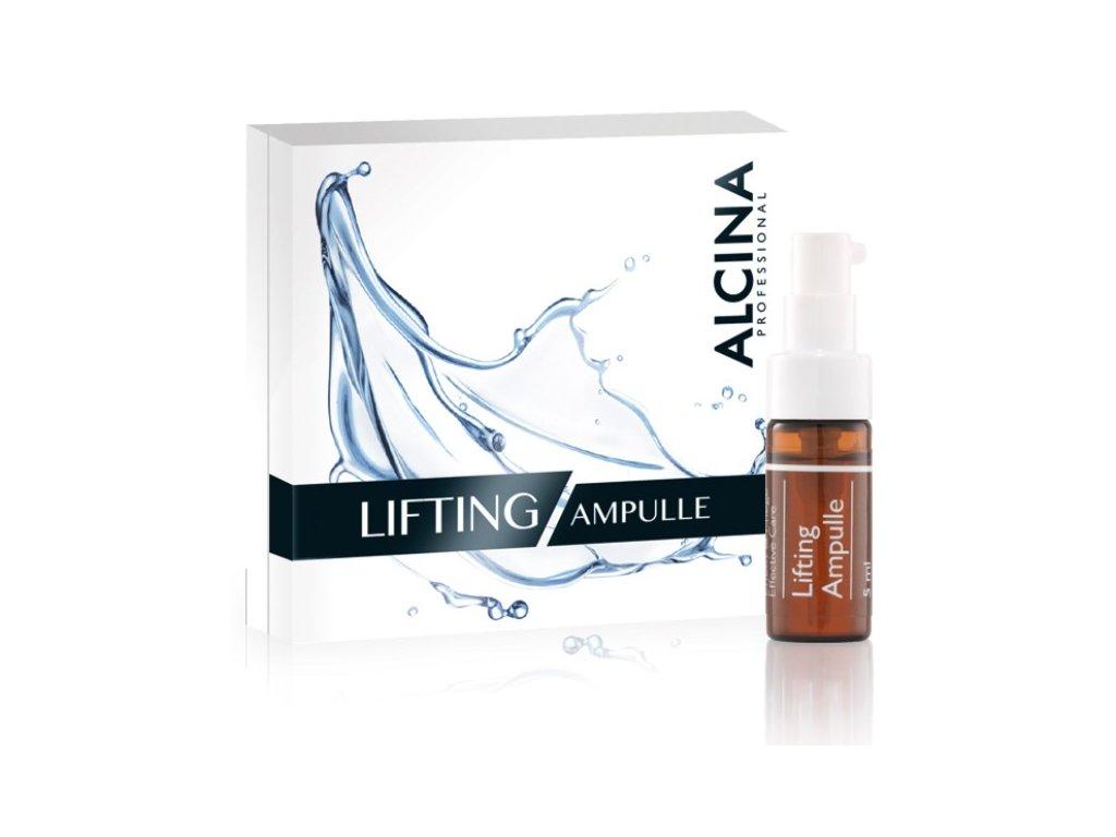 Alcina Lifting Ampulle - liftingový koncentrát pro vyhlazení pleti 5 ml
