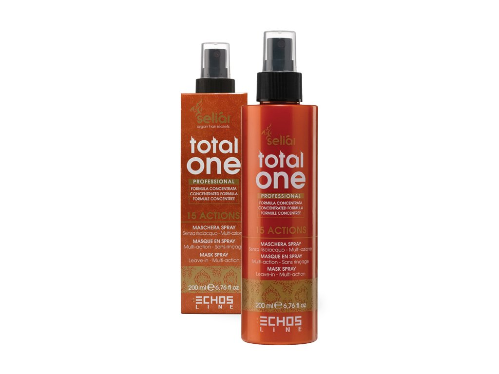 Echosline Seliar Argan Total One Mask Spray - maska na vlasy ve spreji 200ml