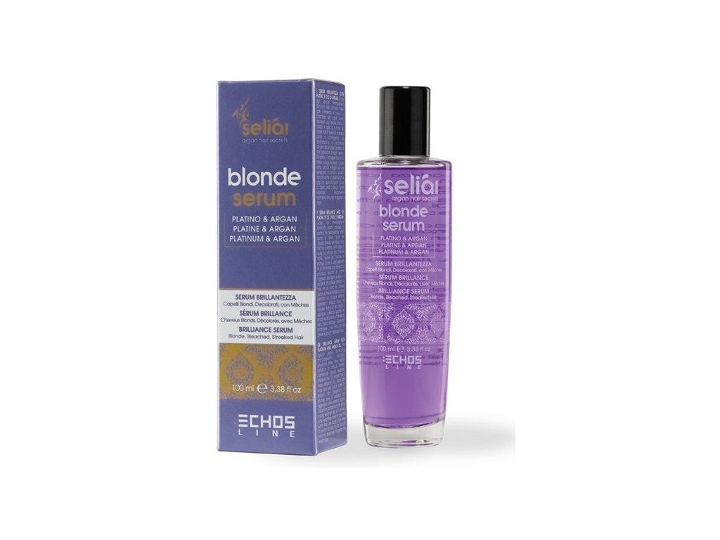 Echosline Seliar Blonde Brilliance Serum - sérum dodávající lesk blond vlasům 100ml