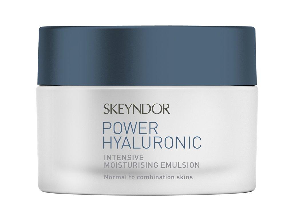 Skeyndor Power Hyaluronic  Intensive Moisturising Emulsion - intenzivní hydratační emulze pro normální až smíšenou pleť 50 ml