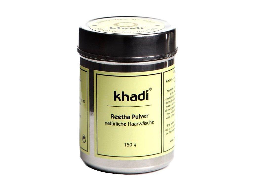 Khadi prášek Reetha - jemný práškový šampon na mastné vlasy 150g