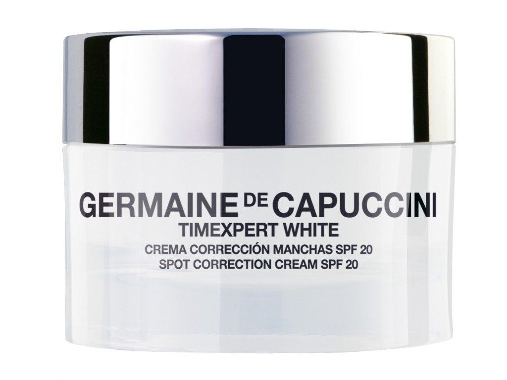 Germaine de Capuccini Timexpert White Spot Correction Cream - korekční krém na pigmentové skvrny SPF20 50ml