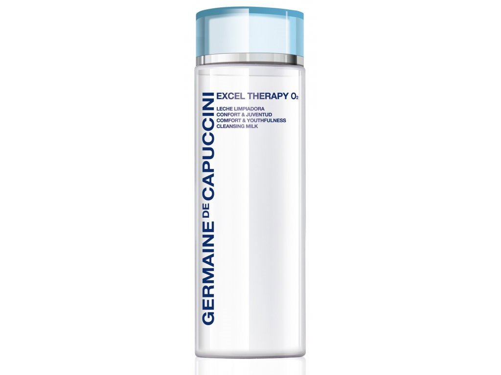 Germaine de Capuccini Excel Therapy O2 Comfort & Youthfulness Cleansing Milk - pleťové čistící mléko 200ml