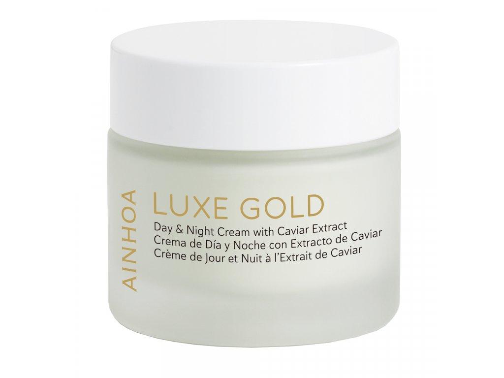 Ainhoa LUXE Gold Day & Night Cream – denní a noční krém s kaviárem pro zralou pleť