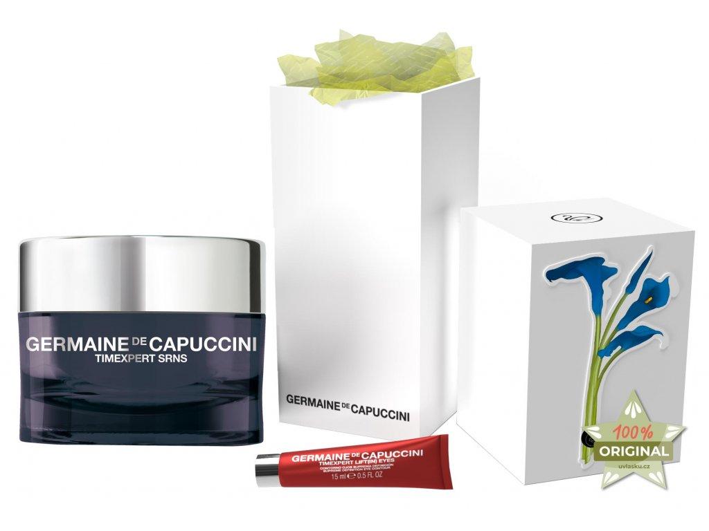 Germaine de Capuccini Timexpert Srns Summer Set – krém pro intenzivní obnovu pleti 50ml + liftingový krém na oční okolí 15ml