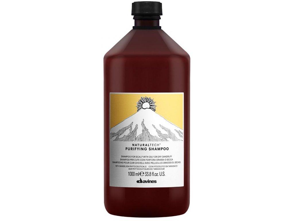 Davines Naturaltech Purifying - čisticí šampon proti lupům 250ml