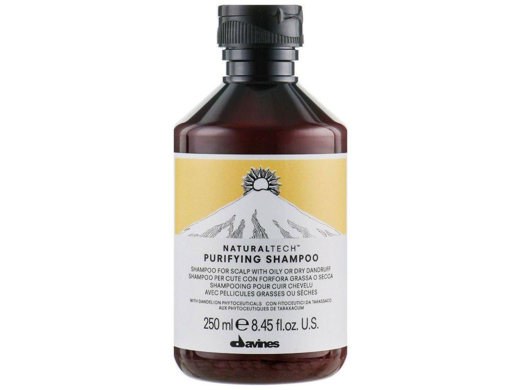 Davines Naturaltech Purifying - čisticí šampon proti lupům
